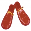 Clown Shoe 16In Plastic Red